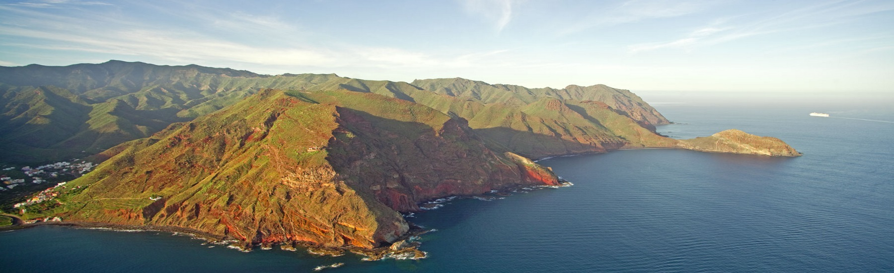 The Northern coast of Tenerife